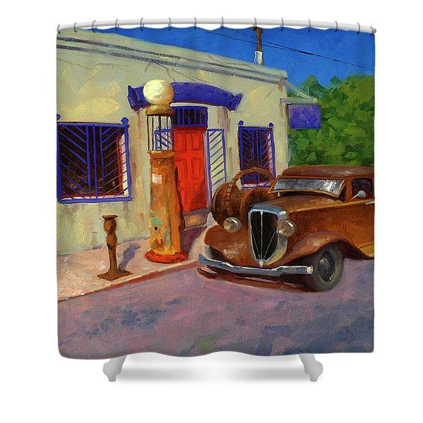 33 Studebaker  Shower Curtain