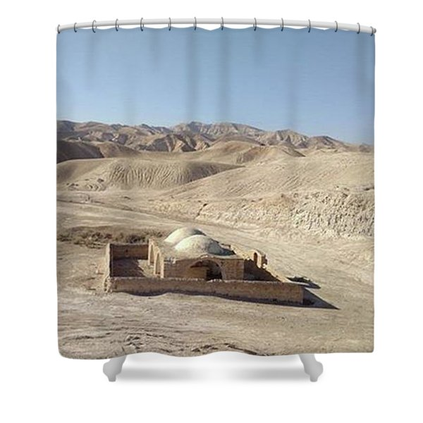 Temple For Water Shower Curtain