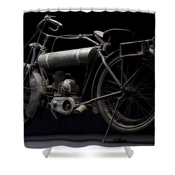1917 Triumph Model H Shower Curtain