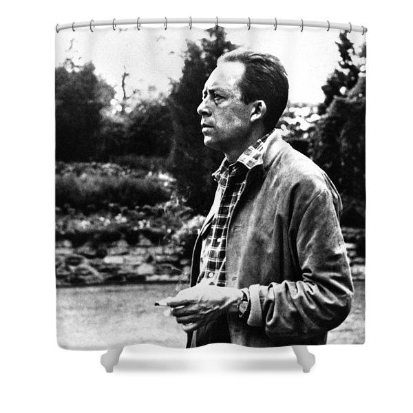 Albert Camus (1913-1960) Shower Curtain