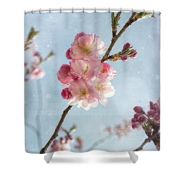 Cherrie Blossom Shower Curtain