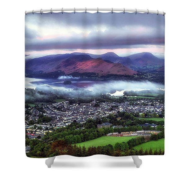 Derwentwater - Lake District Shower Curtain