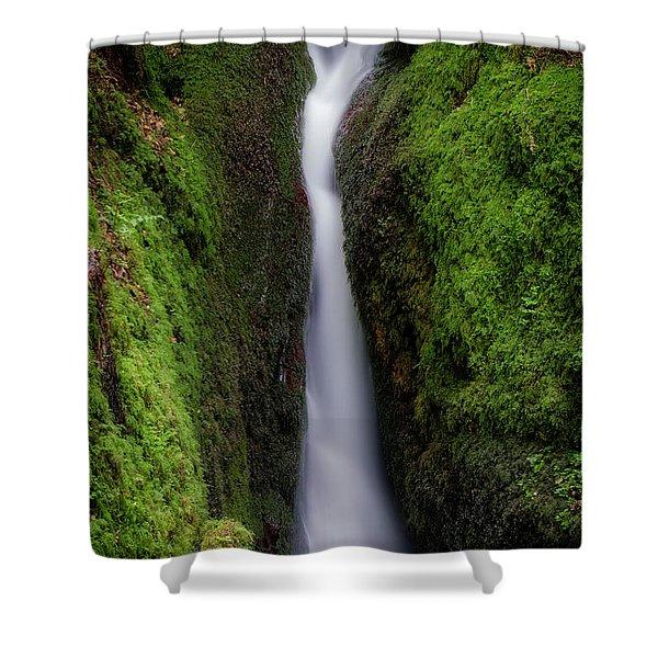 Dollar Glen In Clackmannanshire Shower Curtain