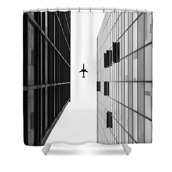 Enjoyable Flight Shower Curtain