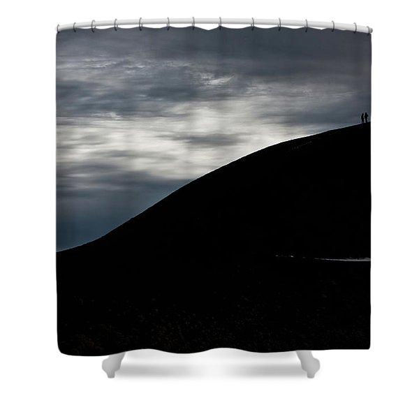 Etna, The Volcano Shower Curtain