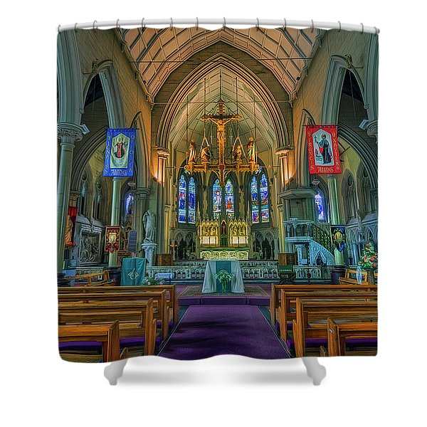 Gods Light Shower Curtain