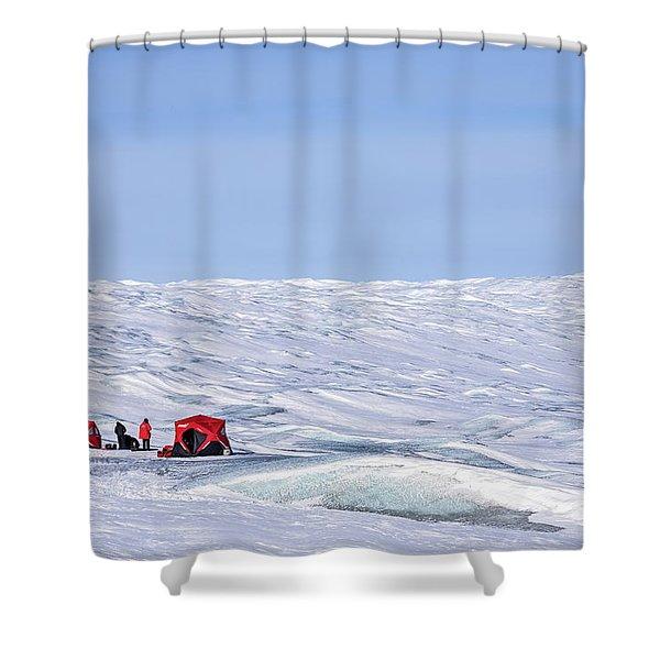 Kangerlussuaq - Greenland Shower Curtain
