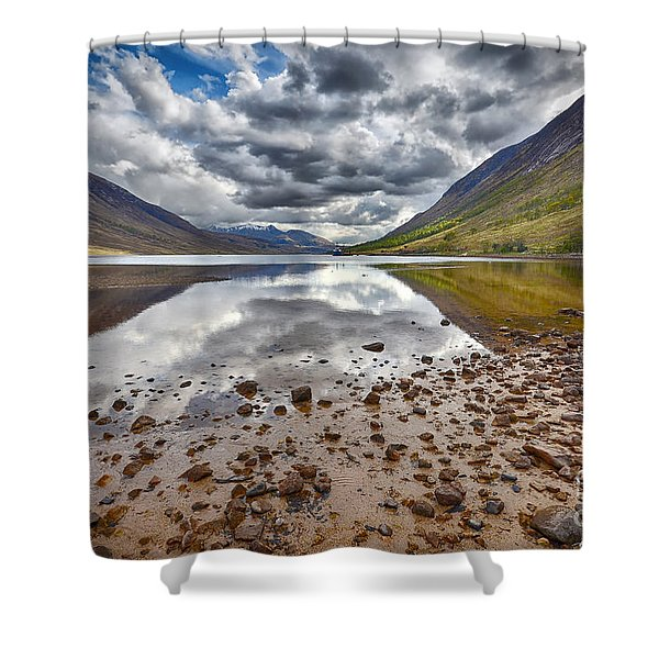 Loch Etive Shower Curtain