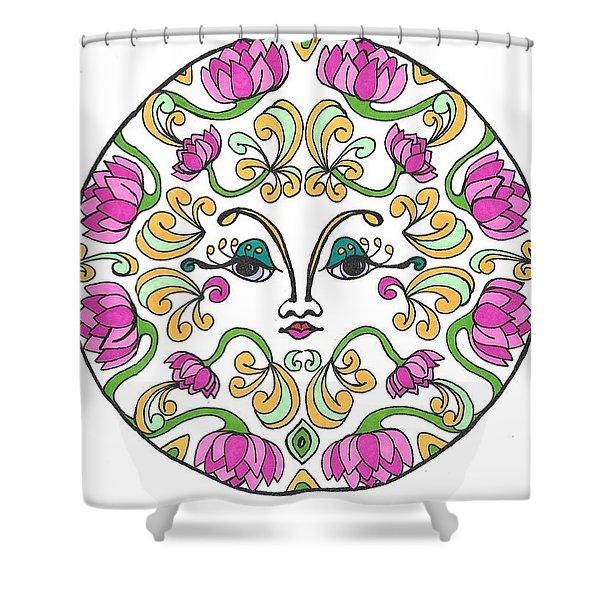 Lotus Princess Shower Curtain