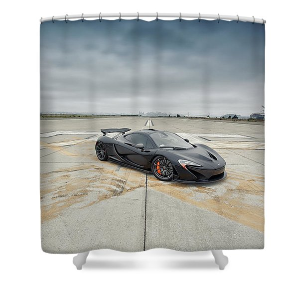 #mclaren #mso #p1 Shower Curtain