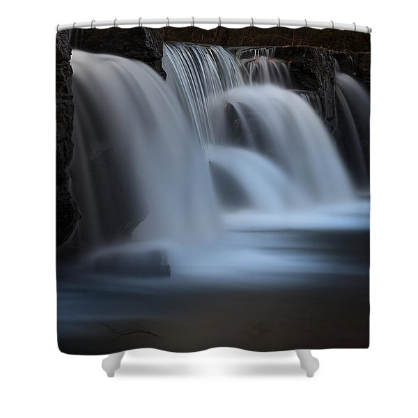 Natural Dam Shower Curtain