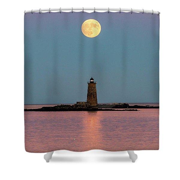 Super Moon 2016 Shower Curtain