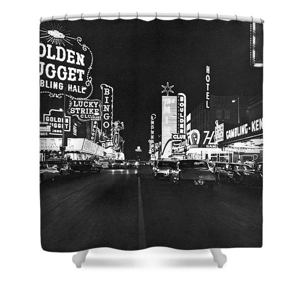 The Las Vegas Strip Shower Curtain