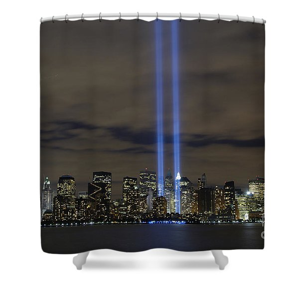 The Tribute In Light Memorial Shower Curtain