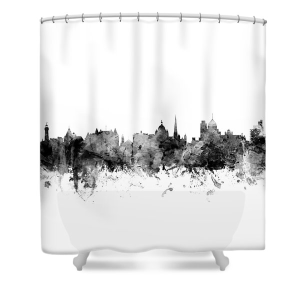 Victoria Canada Skyline Shower Curtain