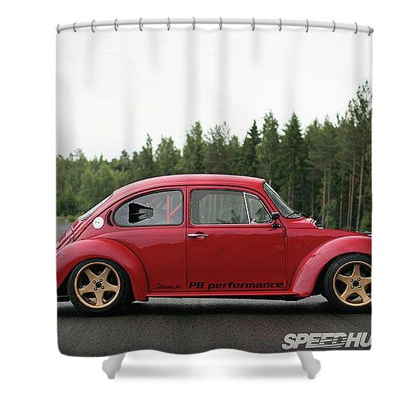 Volkswagen Beetle Shower Curtain