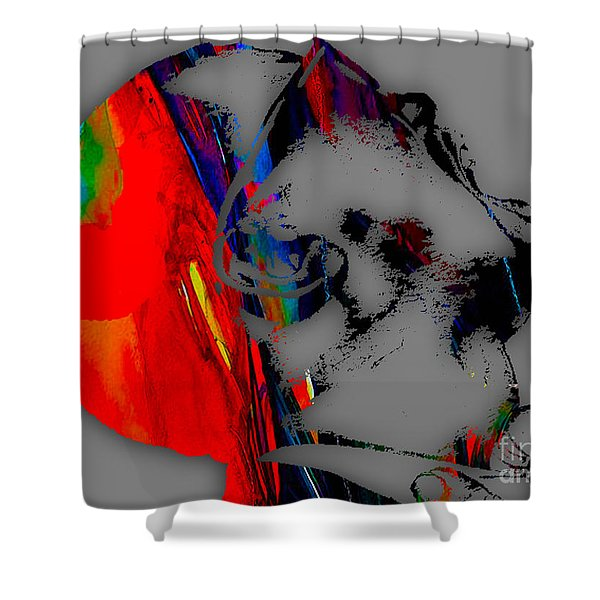 Kanye West Collection Shower Curtain
