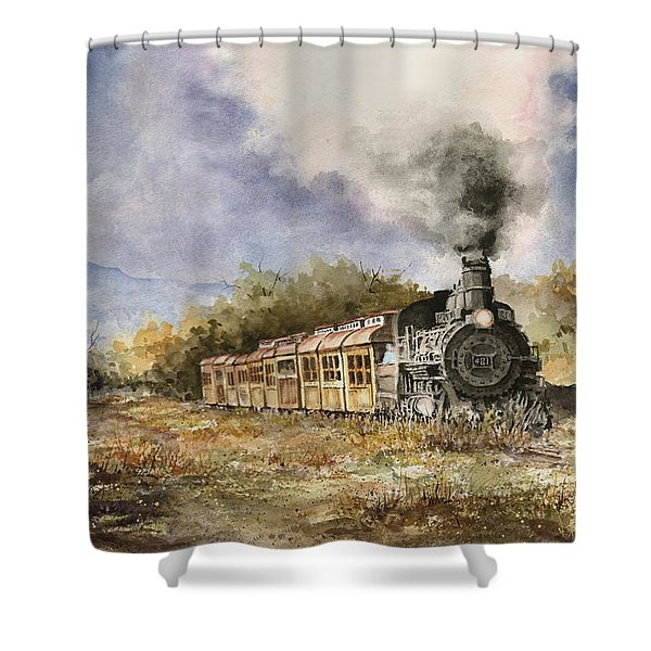 481 From Durango Shower Curtain