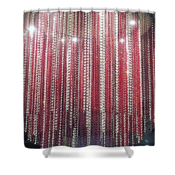 Beads Of Light Shower Curtain