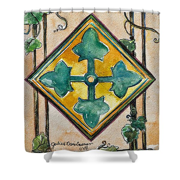 4th Infantry Division Homage Shower Curtain