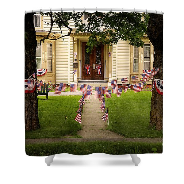 4th Of July Home Shower Curtain