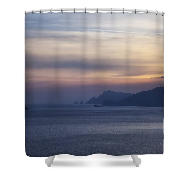 Amalfi Coast Shower Curtain