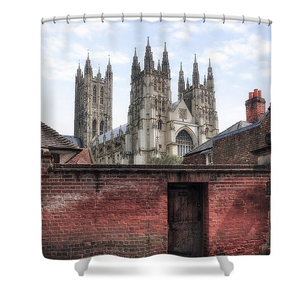Canterbury - England Shower Curtain