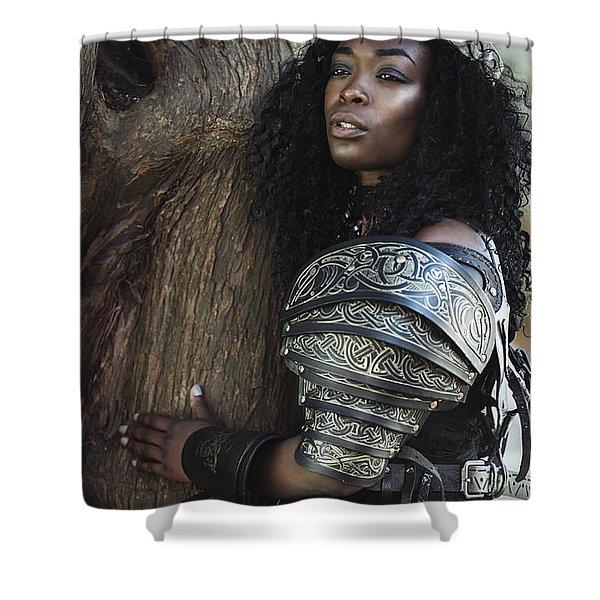 Got Warrior Princess Shower Curtain