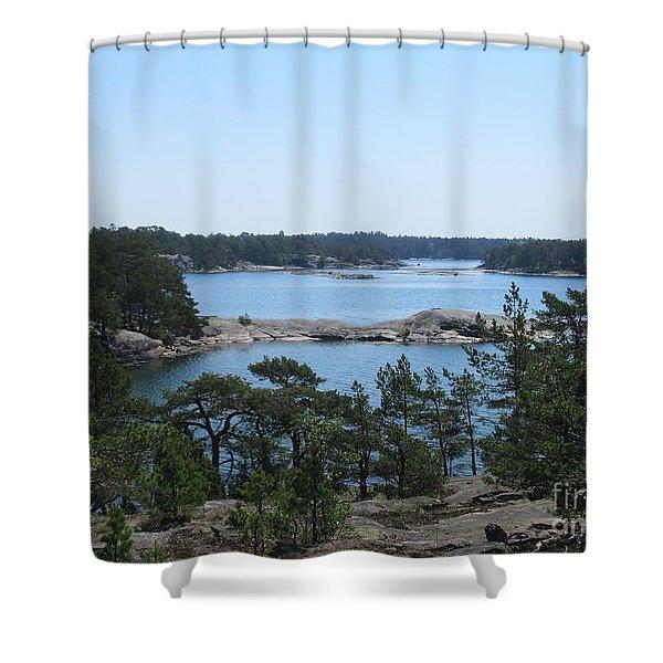 In Stendorren Nature Reserve Shower Curtain