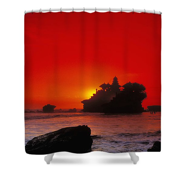 Indonesia, Bali Shower Curtain