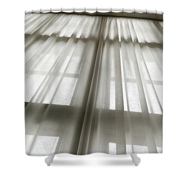 Linen Curtain Shower Curtain