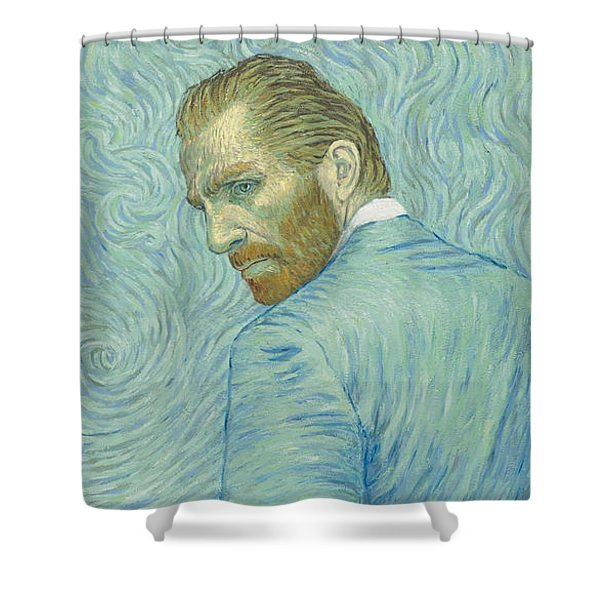 Our Loving Vincent Shower Curtain