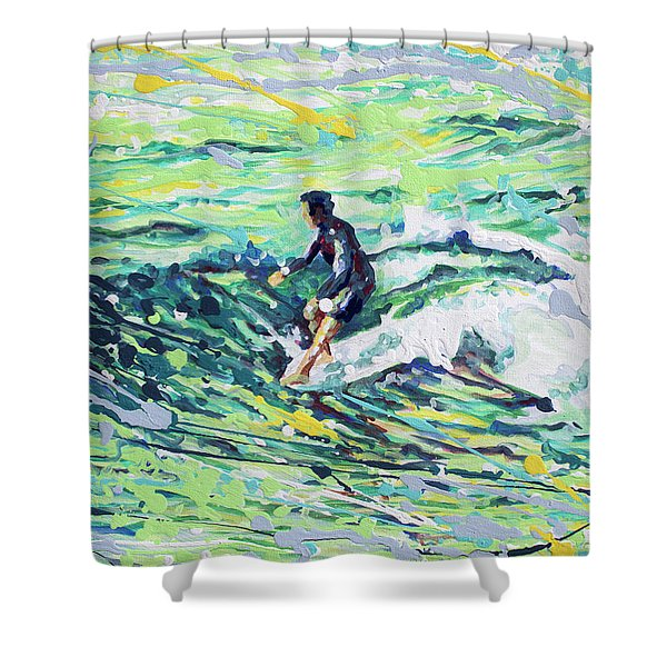 5 On The Nose Shower Curtain