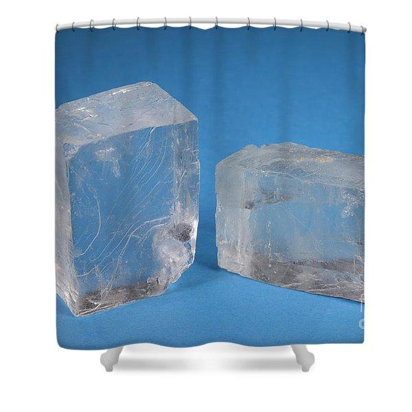 Rock Salt Shower Curtain