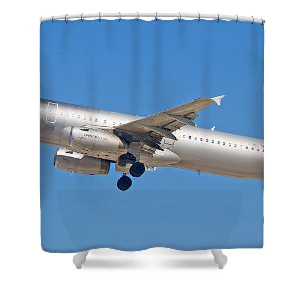 Spirit Airline Shower Curtain