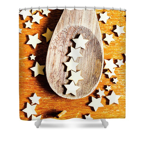 5 Star Catering And Restaurant Award Shower Curtain