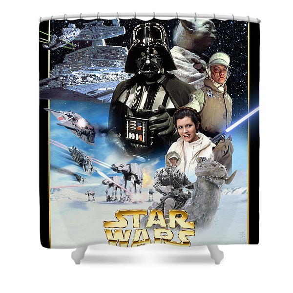 Star Wars Episode V - The Empire Strikes Back 1980 Shower Curtain
