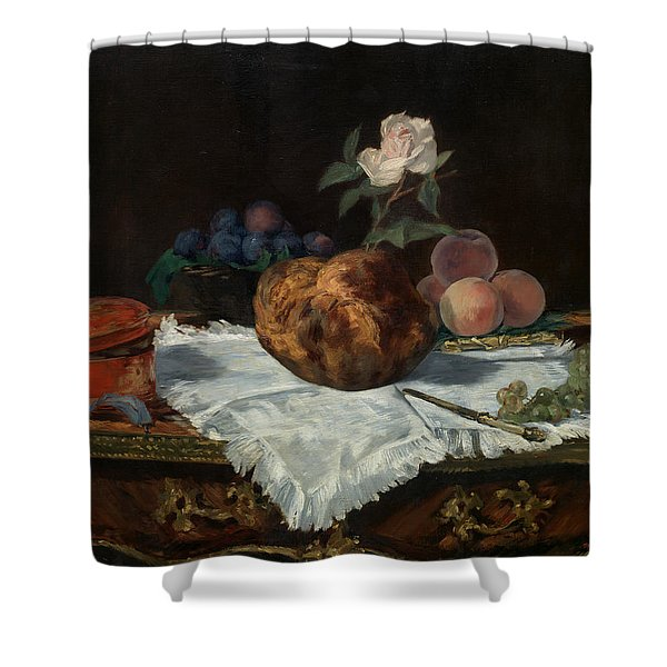 The Brioche Shower Curtain