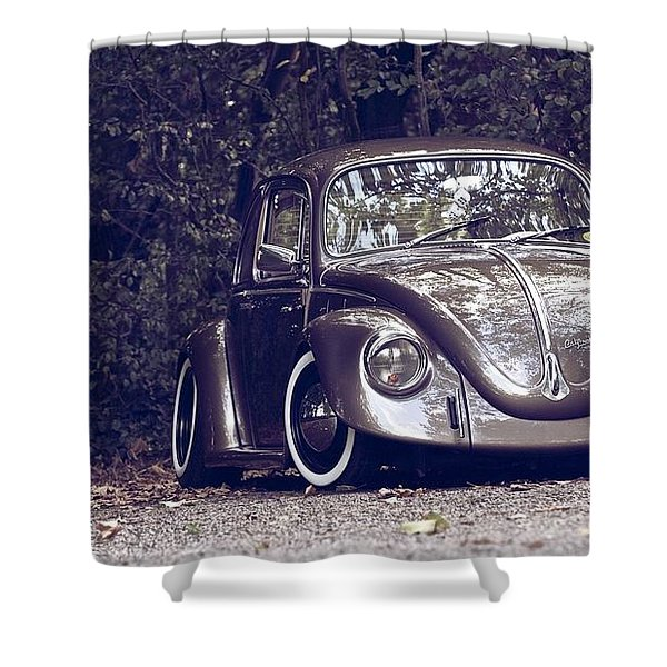 Volkswagen Shower Curtain