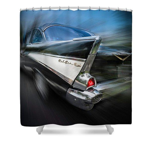 57' Go Power Shower Curtain