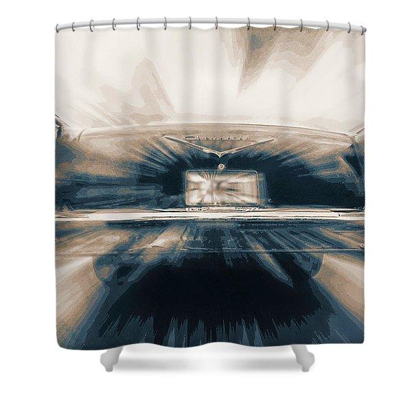 57' Speed Dream Shower Curtain