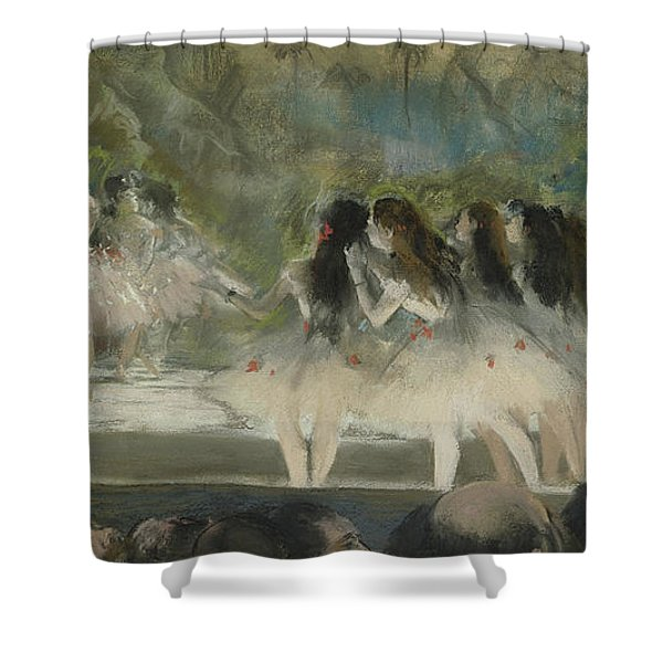 Ballet At The Paris Opera Shower Curtain