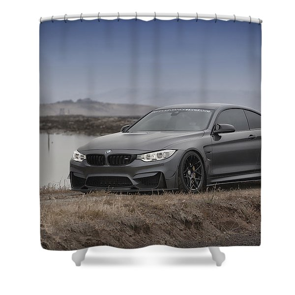 Bmw M4 Shower Curtain