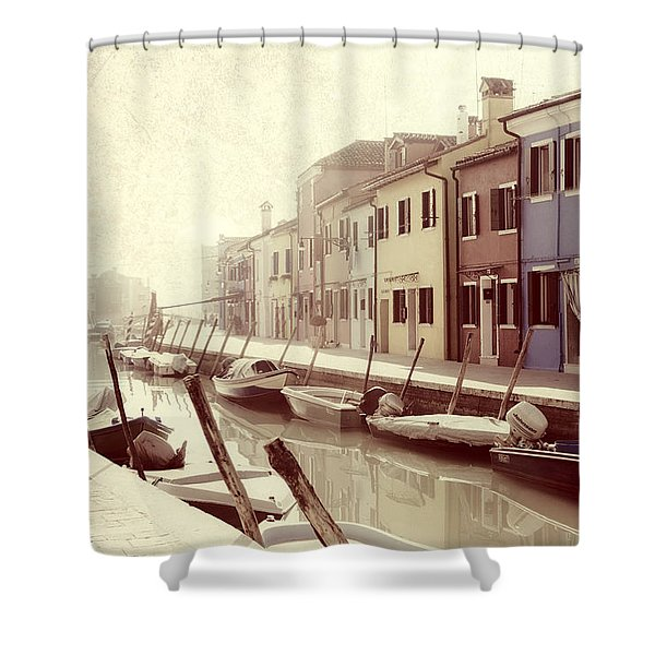 Burano Shower Curtain