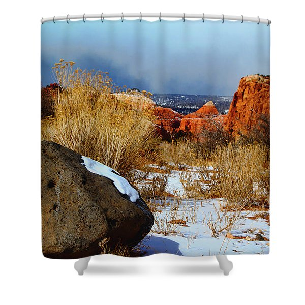 Captiol Reef National Park  Shower Curtain
