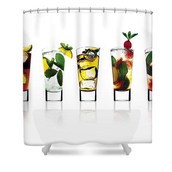 Drink Shower Curtain