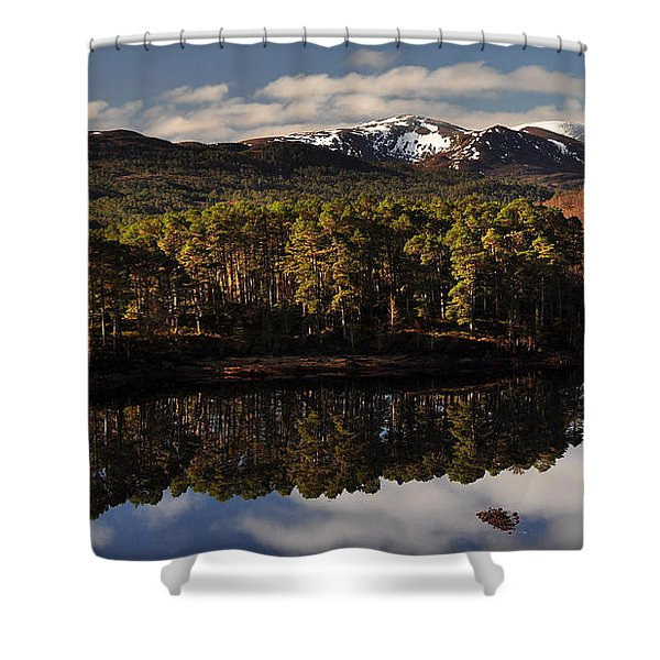 Glen Affric Shower Curtain