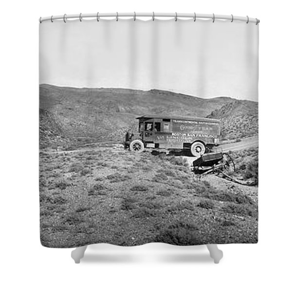 Goodyear Wingfoot Express Shower Curtain