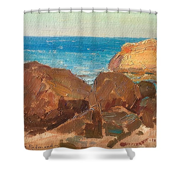 Granville Redmond Shower Curtain