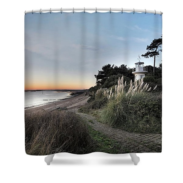 Lepe - England Shower Curtain